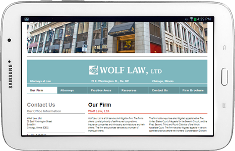 Wolf Law, Ltd Website by Revanew Media | Chicago, IL 60660 USA