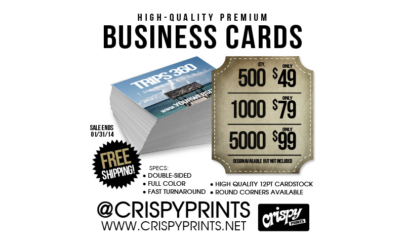 Business Cards at CrispyPrints.net | Chicago, IL USA