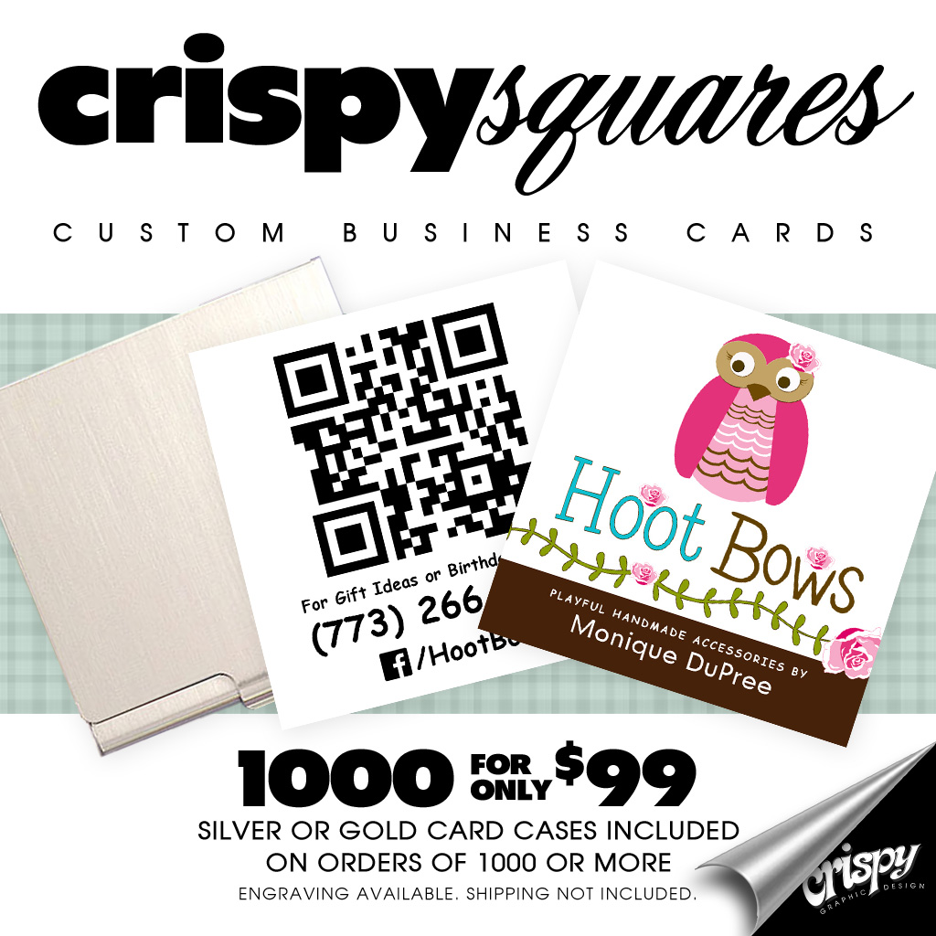 Crispy Squares by Crispy Graphic Design | Chicago, IL 60660