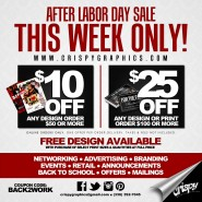 #Back2Work After Labor Day Sale