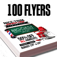 100 Free Flyers